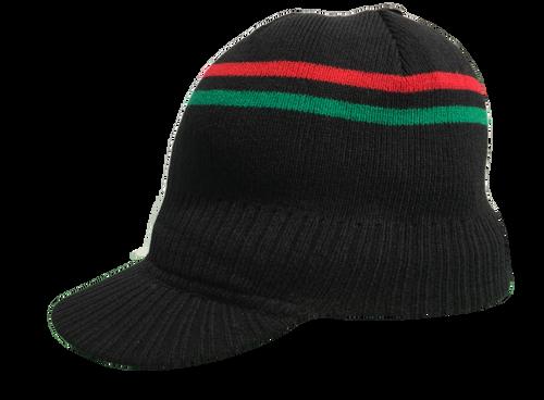 Ny-84 Black Rbg - Knitted Tam