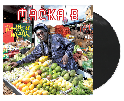 Health Is Wealth - Macka B (LP)