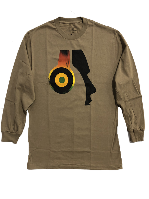 Rasta Headphone Long Sleeve