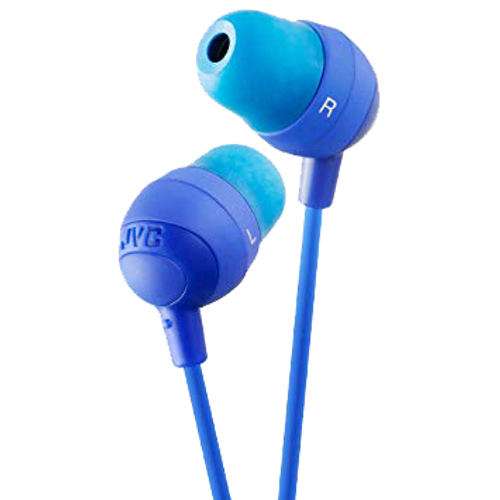 Jvc Blue Marshmallow Earphone - Marshmallow