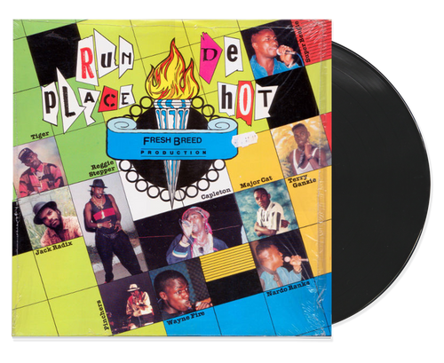 Run De Place Hot - Various Artists (LP)