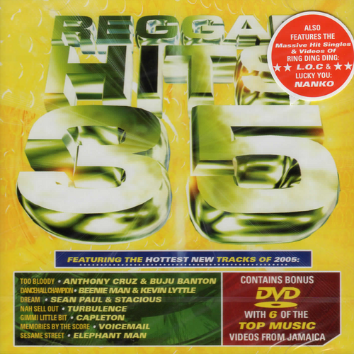 Reggae Hits Vol 35 Cd/dvd Set - Various Artists