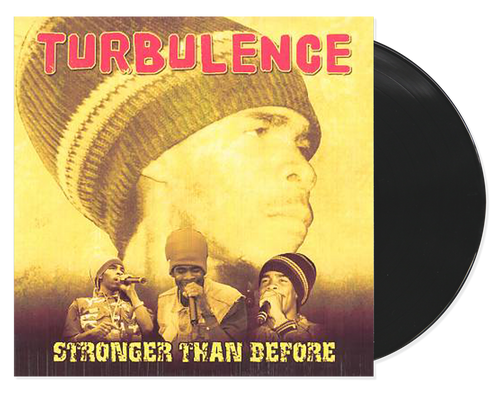Stronger Than Before - Turbulence (LP)