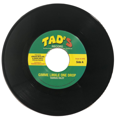 Gimme Likkle One Drop - Tarrus Riley (7 Inch Vinyl)