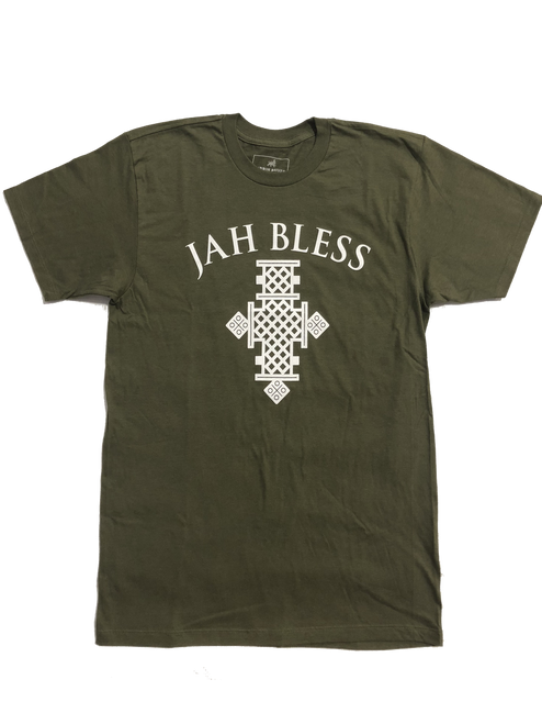 Jah Bless Cross Tee