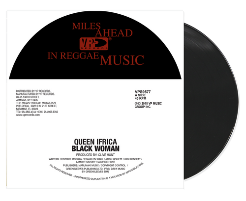 Black Woman - Queen Ifrica (7 Inch Vinyl)