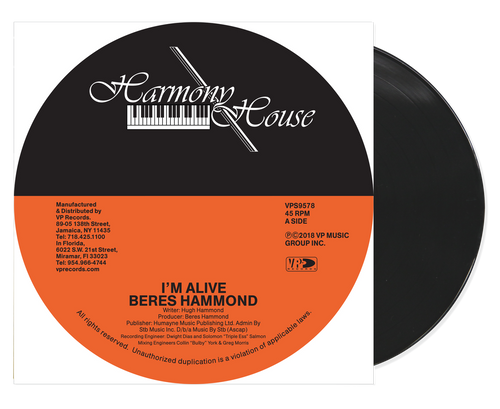 I'm Alive - Beres Hammond (7 Inch Vinyl)