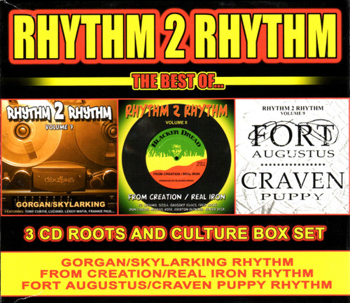 Best Of Rhythm 2 Rhythm (3-cd Roots & Culture Box Set) - Various Artists
