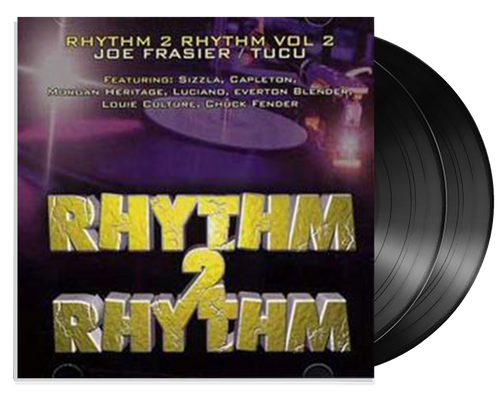 Rhythm 2 Rhythm Vol.2 2LP- Various Artists (LP)