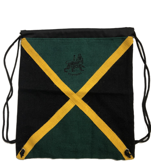 Jamaica Flag Draw String Bag