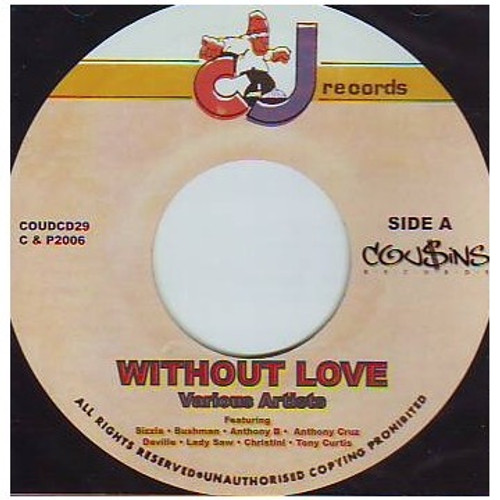 Without Love - Various Artists (lp)
