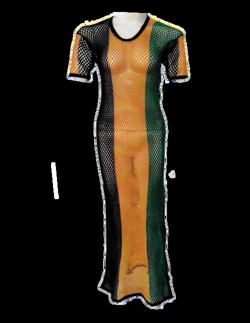 Jamaica Mesh Maxi Dress