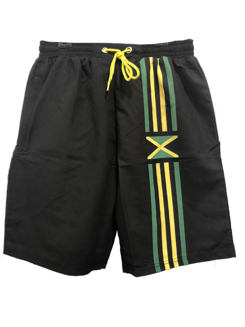 Swim Shorts-Jamaica Stripes