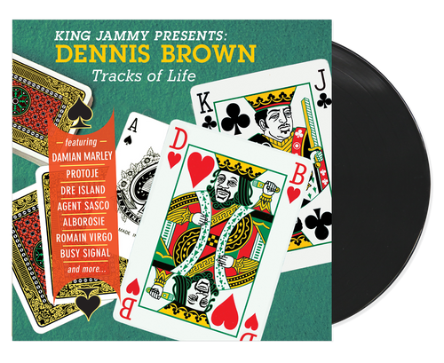 King Jammy Presents Dennis Brown Tracks Of Life - Dennis Brown (LP)