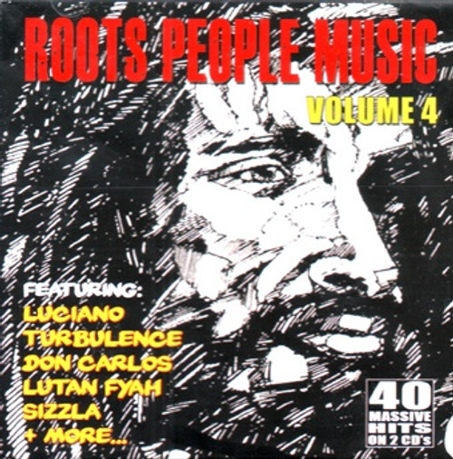 Roots People Music Vol.4 - 40 Massive Hits 2cd - Various Artists