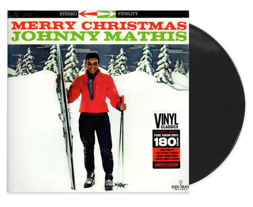 Merry Christmas - Johnny Mattis (LP)