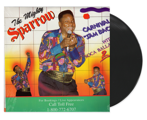 Carnival Jam With Soca Ballads - Mighty Sparrow (LP)