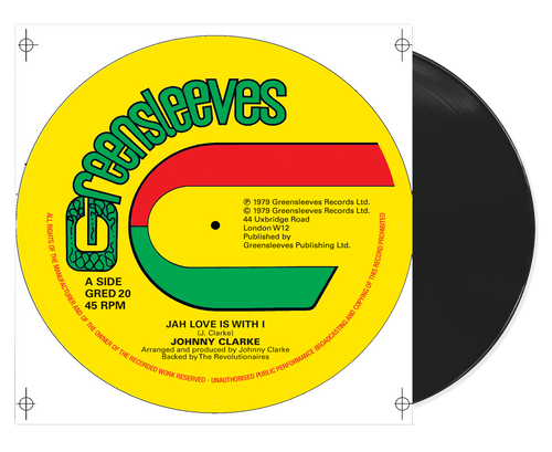 Jah Love Is With I - Johnny Clarke (12 Inch Vinyl)