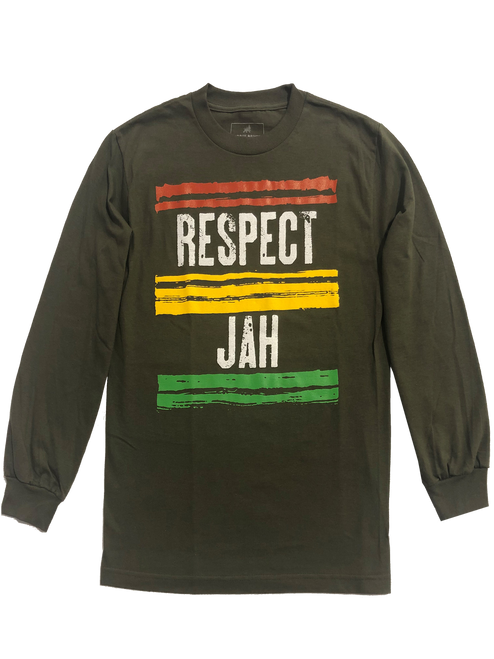 Jah Respect Long Sleeve