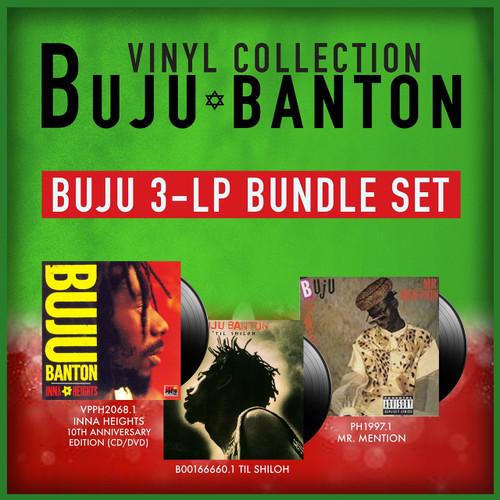 Buju Banton Vinyl Collection 3-LP Bundle Set