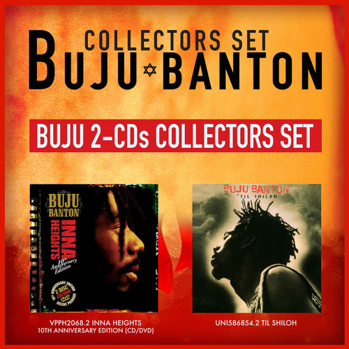 Buju Banton Collectors Set 2-CD Bundle