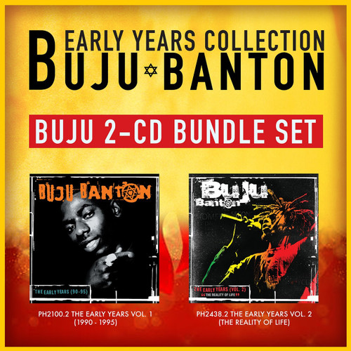 Buju Banton Early Years Collection 2-CD Bundle Set