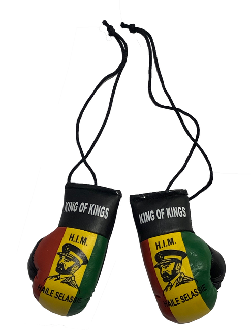 Boxing Gloves: Haile Selassie