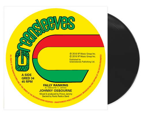 Fally Ranking - Johnny Osbourne (12 Inch Vinyl)