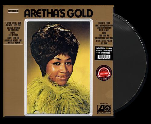 Aretha's Gold Ltd Edition Gold Vinyl - Aretha Franklin (LP)