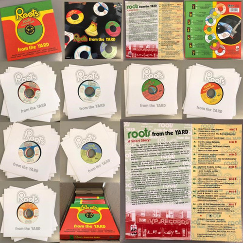 """Roots From The Yard (7"""" Box Set) - Various Artists (7 Inch Vinyl)"""