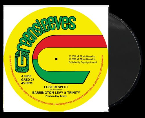Lose Respect C/w Since You're Gone - Barrington Levy & Trinity C/w Roman Stewart & Tr (12 Inch Vinyl)