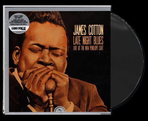 Late Night Blues - James Cotton (LP)