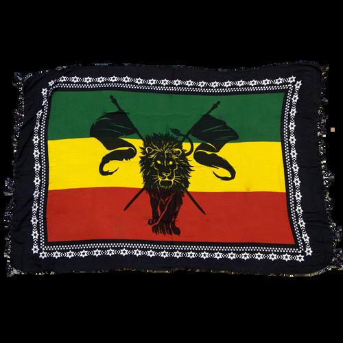 Lion Be Bold Sarong Rasta