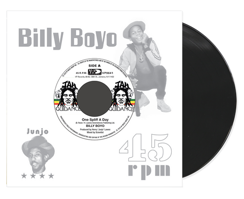 One Splif A Day - Billy Boyo (7 Inch Vinyl)