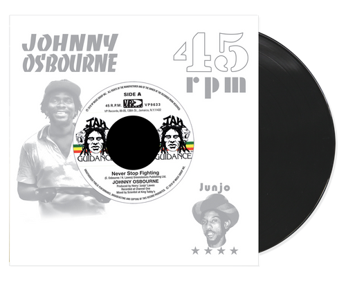 Never Stop Fighting - Johnny Osbourne (7 Inch Vinyl)
