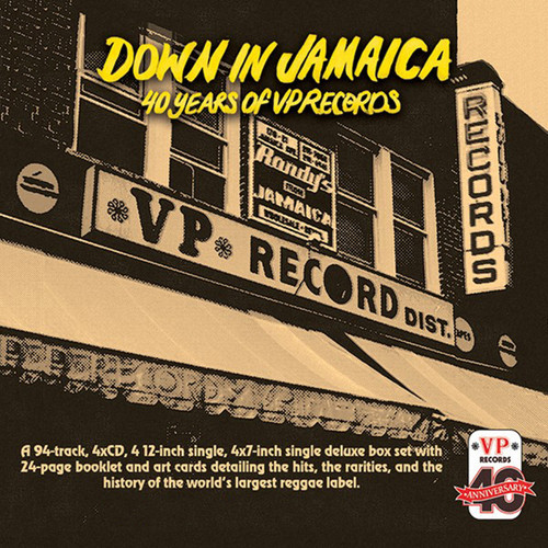 Down In Jamaica - 40 Years of VP Records - Various Artists