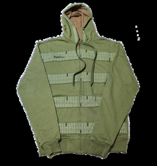 Full Zip Art Panel Jacket