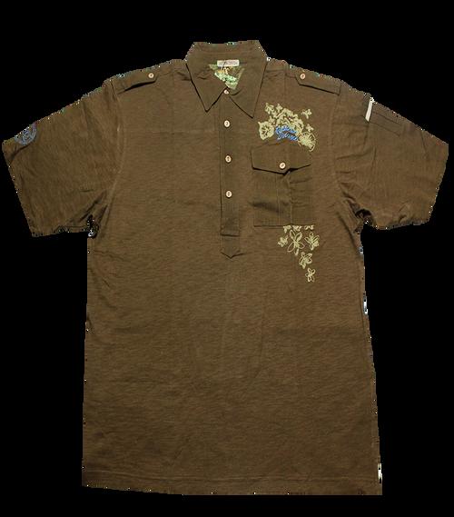 Slub Pocket Polo Shirt
