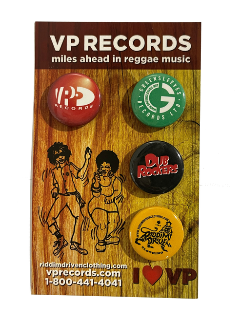 VP Signature Buttons  / 4 Pack