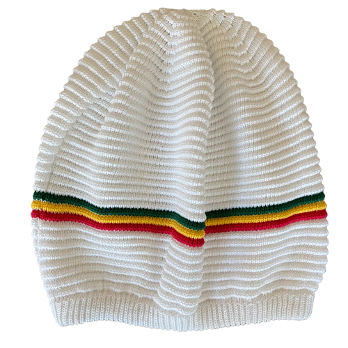 Knitted Tam 92 White RGY