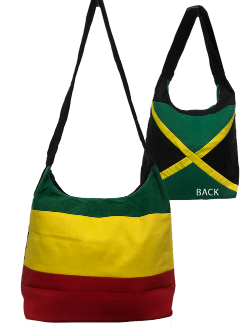 Double Sided Jamaica/ Rasta - Bag