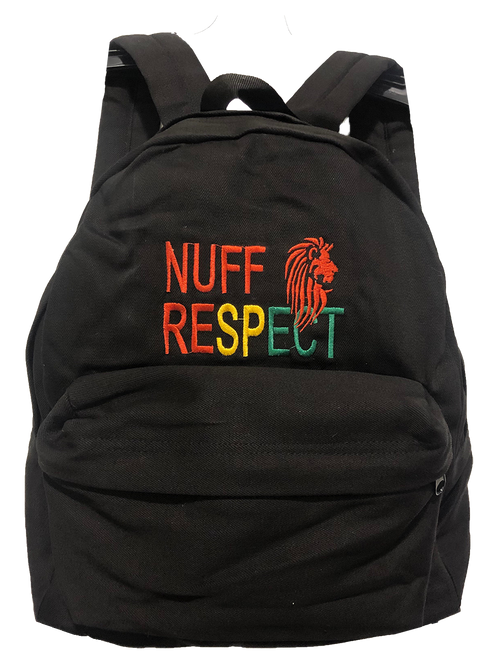 Nuff Respect Backpack