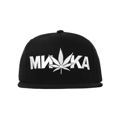 Cannabis Snapback Cap - Men