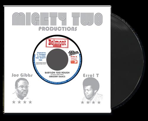Babylon Too Rough - Gregory Isaacs (7 Inch Vinyl)