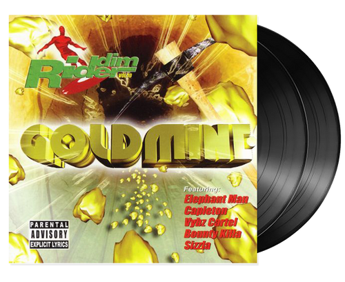 Goldmine - Riddim Rider Vol.10 - Various Artists (LP)