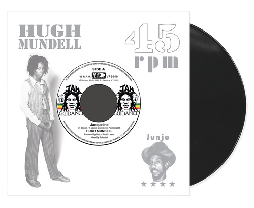 Jacqueline (Re-issue) - Hugh Mundell (7 Inch Vinyl)