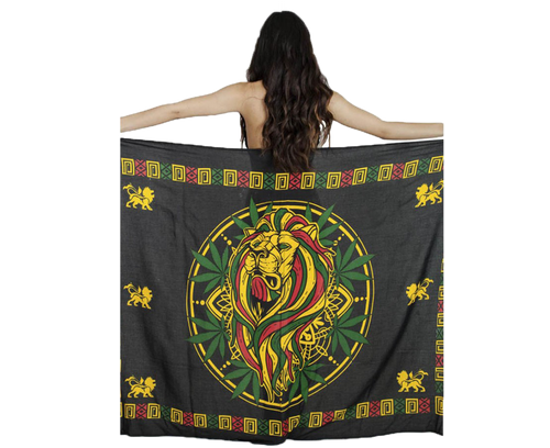 Lion Head Leaf Sarong