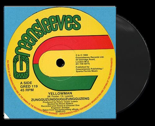 Zungguzungguguzunguzeng - Yellow Man (12 Inch Vinyl)