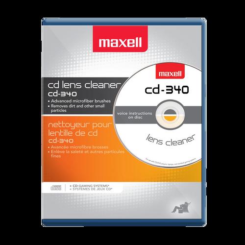 Maxell CD-340 Laser Lens Cleaner