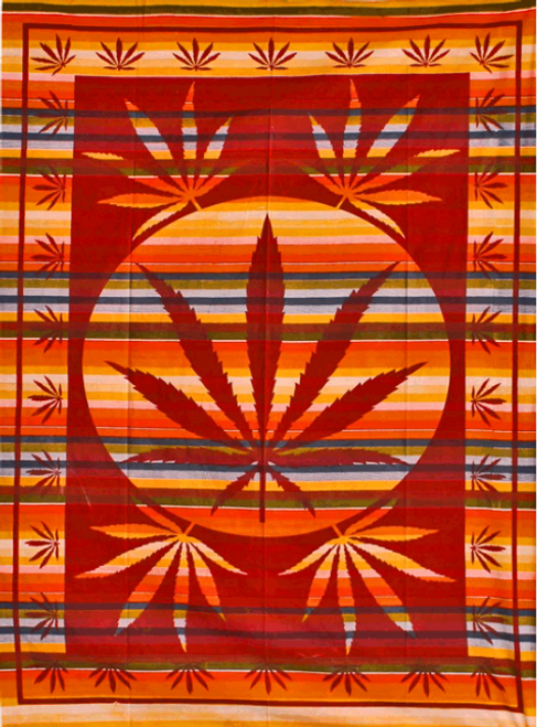Kush Sunset Tapestry